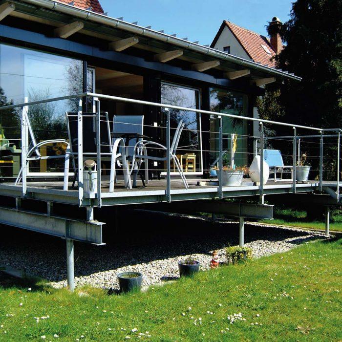 Holzbau Hagenmaier Langenau Ulm Zimmerei | Dachdeckung | Energetische Sanierung | Innenausbau Viele Bereiche ein Ansprechpartner! Balkon, Sichtschutz, Geländer