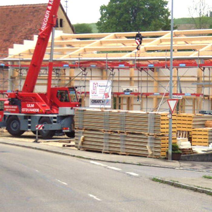Holzbau Hagenmaier Langenau Ulm Zimmerei | Dachdeckung | Energetische Sanierung | Innenausbau Viele Bereiche ein Ansprechpartner! Holzhaus Holzkonstruktionen
