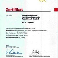 Holzbau Hagenmaier ist zertifizierter Partner von BRAAS. Bestens ausgebildet in Sachen Solar.
