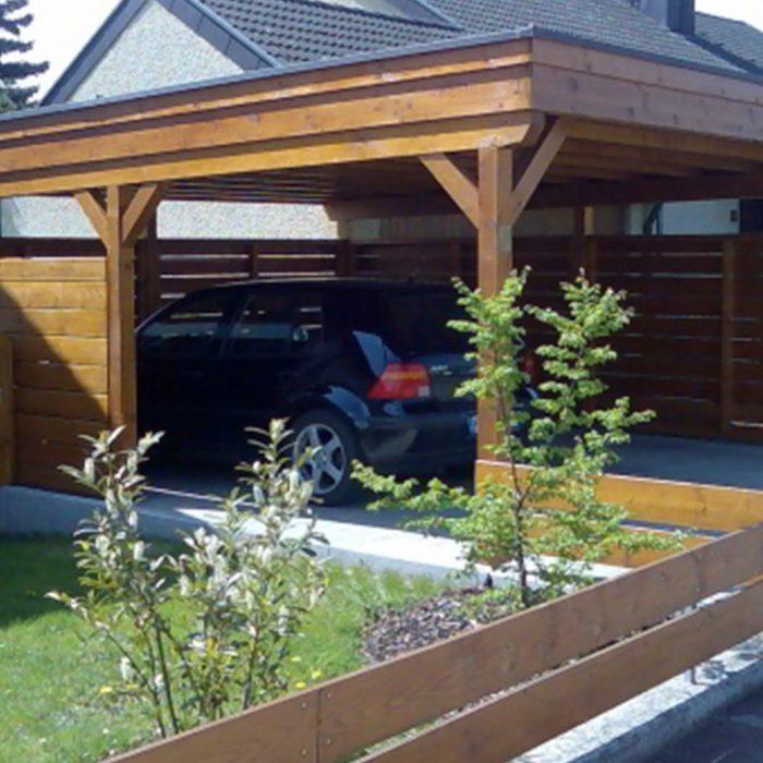 Holzbau Hagenmaier Langenau Ulm Zimmerei | Dachdeckung | Energetische Sanierung | Innenausbau Viele Bereiche ein Ansprechpartner! Carport, Bikeport